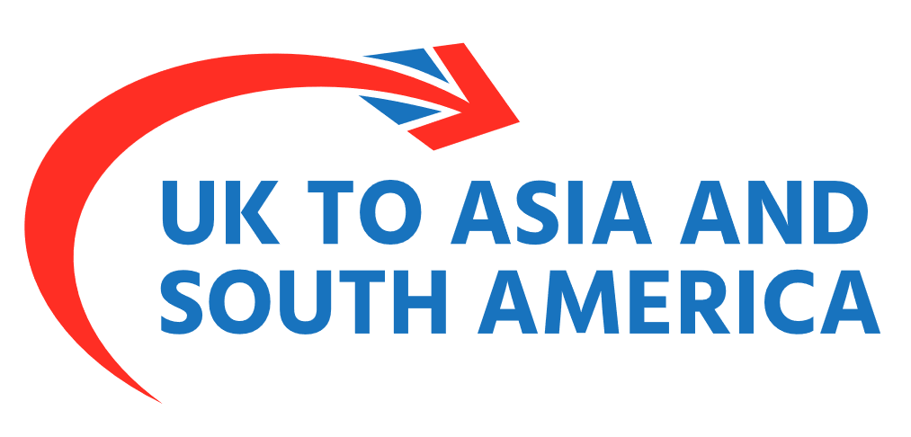 UK to Asia and South America